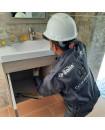 Instalacion de Lavamanos de sobreponer